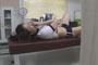 中○生が仮病を使って保健室のベッドでこっそりオナニーしちゃってる映像隠し撮り 4