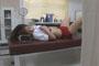 中○生が仮病を使って保健室のベッドでこっそりオナニーしちゃってる映像隠し撮り 7