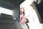 タクシー車内で油断して大股広げている女性客パンチラ狙い撃ち盗撮 2 1