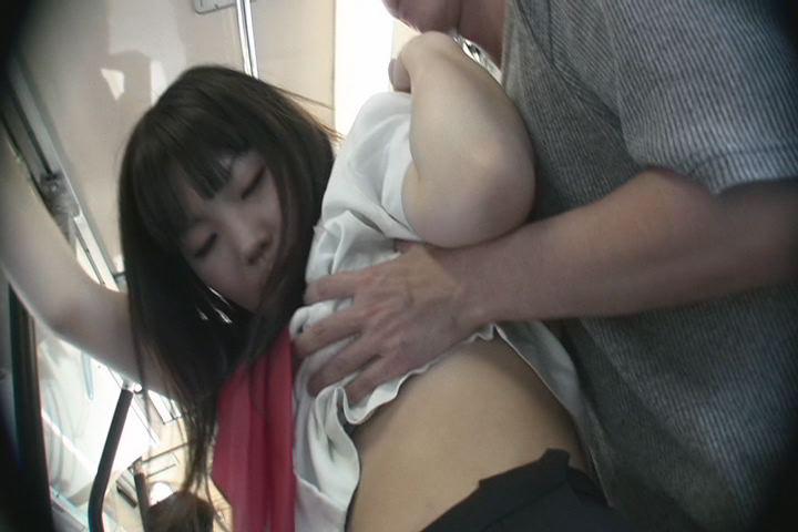 路線バス女子校生痴漢 2